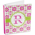Suzani Floral 3-Ring Binder (Personalized)
