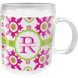 Suzani Floral Acrylic Kids Mug (Personalized)