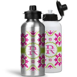 Suzani Floral Water Bottles- Aluminum (Personalized)