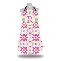 Suzani Floral Apron w/ Name and Initial