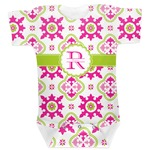 Suzani Floral Baby Bodysuit (Personalized)