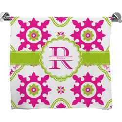 Suzani Floral Full Print Bath Towel (Personalized)