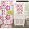 Suzani Floral Bathroom Scene