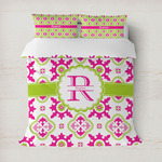 Suzani Floral Duvet Cover (Personalized)