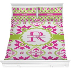 Suzani Floral Comforter Set (Personalized)