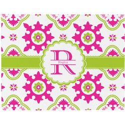 Suzani Floral Placemat (Fabric) (Personalized)