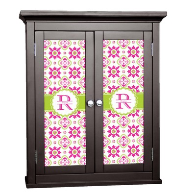 Suzani Floral Cabinet Decal - Custom Size (Personalized)