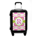Suzani Floral Carry On Hard Shell Suitcase (Personalized)