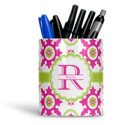 Suzani Floral Ceramic Pen Holder