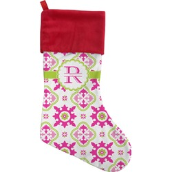 Suzani Floral Christmas Stocking (Personalized)