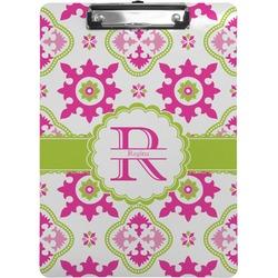 Suzani Floral Clipboard (Personalized)