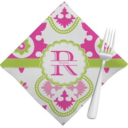 Suzani Floral Cloth Napkins (Set of 4) (Personalized)