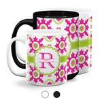 Suzani Floral Coffee Mugs (Personalized)