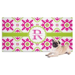 Suzani Floral Pet Towel (Personalized)