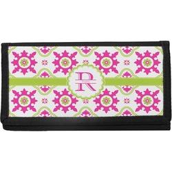 Suzani Floral Canvas Checkbook Cover (Personalized)