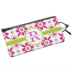 Suzani Floral Genuine Leather Eyeglass Case (Personalized)
