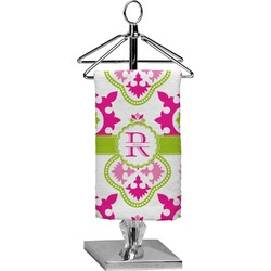 Suzani Floral Finger Tip Towel - Full Print (Personalized)