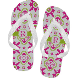 Suzani Floral Flip Flops (Personalized)