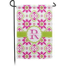 Suzani Floral Garden Flag - Single or Double Sided (Personalized)