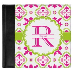 Suzani Floral Genuine Leather Baby Memory Book (Personalized)