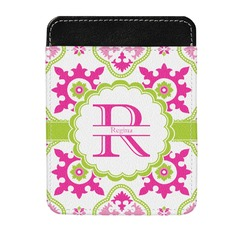 Suzani Floral Genuine Leather Money Clip (Personalized)