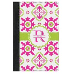 Suzani Floral Genuine Leather Passport Cover (Personalized)