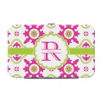 Suzani Floral Genuine Leather Small Framed Wallet (Personalized)
