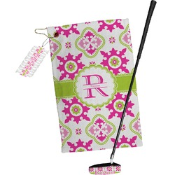 Suzani Floral Golf Towel Gift Set (Personalized)