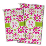 Suzani Floral Golf Towel - Full Print w/ Name and Initial