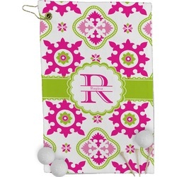 Suzani Floral Golf Towel - Full Print (Personalized)