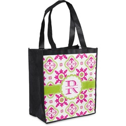 Suzani Floral Grocery Bag (Personalized)