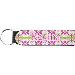Suzani Floral Neoprene Keychain Fob (Personalized)