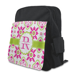 Suzani Floral Preschool Backpack (Personalized)