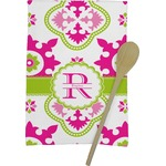 Suzani Floral Kitchen Towel - Full Print (Personalized)