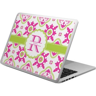 Suzani Floral Laptop Skin - Custom Sized (Personalized)