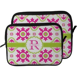 Suzani Floral Laptop Sleeve / Case (Personalized)