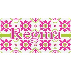 Suzani Floral Front License Plate (Personalized)