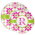 Suzani Floral Melamine Plate (Personalized)