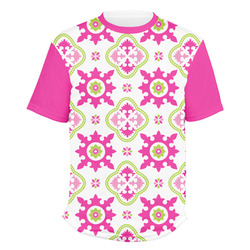 Suzani Floral Men's Crew T-Shirt (Personalized)