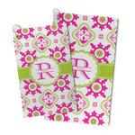 Suzani Floral Microfiber Golf Towel (Personalized)