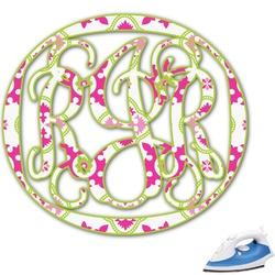Suzani Floral Monogram Iron On Transfer (Personalized)