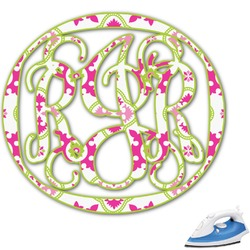 Suzani Floral Monogram Iron On Transfer (Personalized)