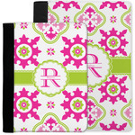 Suzani Floral Notebook Padfolio w/ Name and Initial