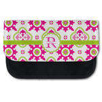 Suzani Floral Canvas Pencil Case w/ Name and Initial