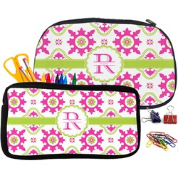 Suzani Floral Pencil / School Supplies Bag (Personalized)