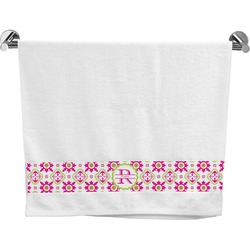Suzani Floral Bath Towel (Personalized)