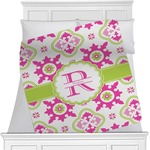 Suzani Floral Minky Blanket (Personalized)