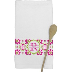Suzani Floral Kitchen Towel (Personalized)