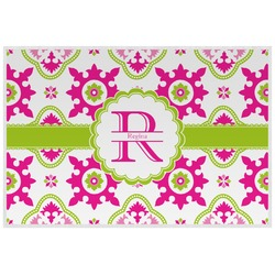 Suzani Floral Placemat (Laminated) (Personalized)