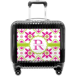 Suzani Floral Pilot / Flight Suitcase (Personalized)